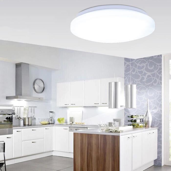Floureon 24w Plafonnier Led Rond Lumière Sur Plafond Lampe Designe