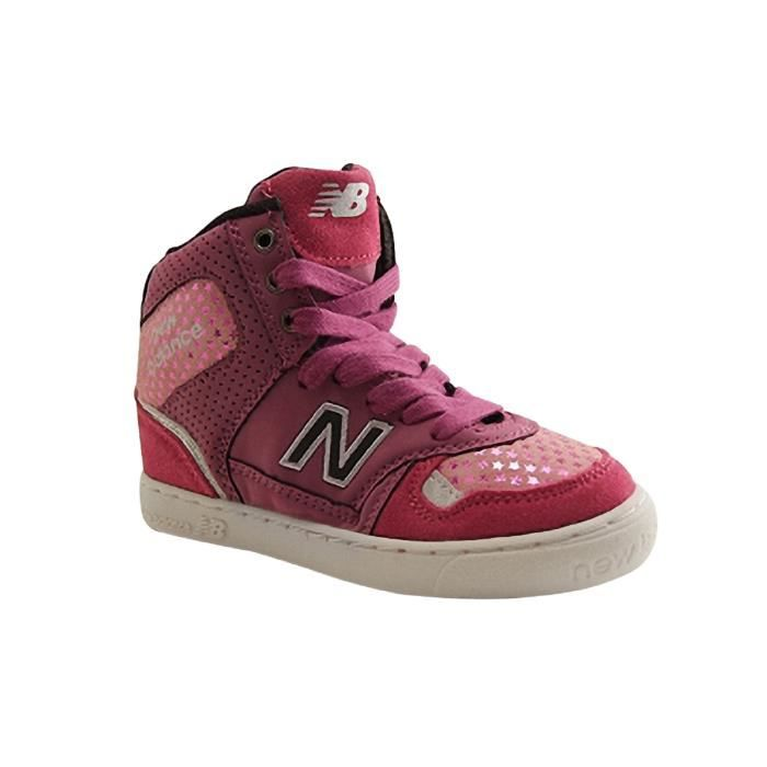 NEW BALANCE KIDS-KT1052PAETY-BASKET LACET-ROSE