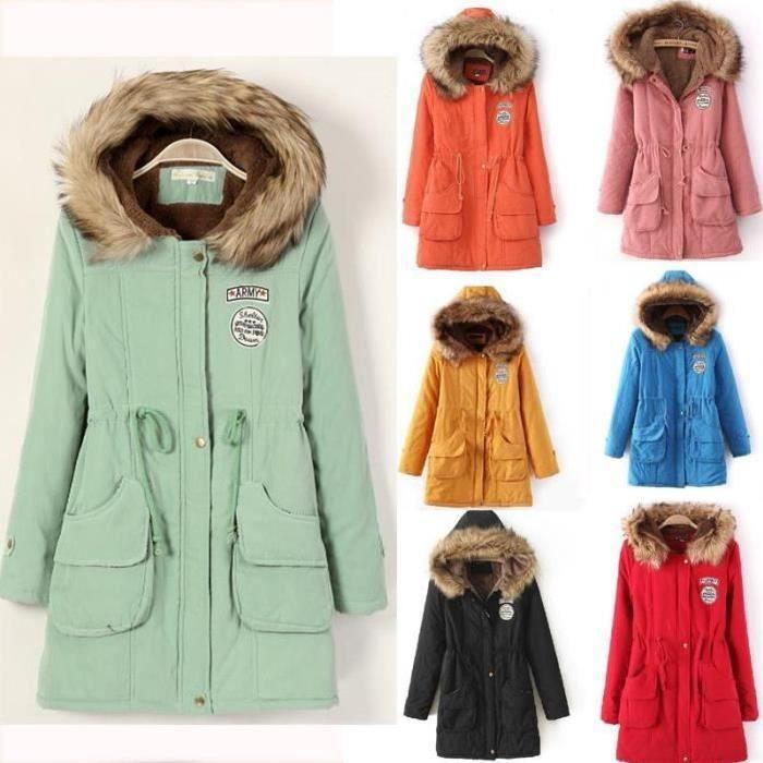 Manteau d'hiver femme 2x
