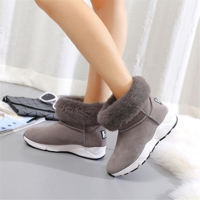 Neige Et Temps Froid Froid Poids Léger Chaussures Plus De Cachemire Classique WmrgkH