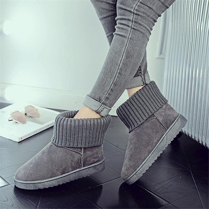 Bottes pour femmes chaussures pour enfants chaussures de marque haut de gamme pour femmes bottes chaudes et bottes en cachemire