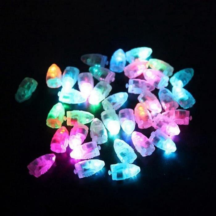 10pcs Lignes Mini En De Latex Pas Ballon Lumineuse A Noel Lampes Multicolore Lumiere Ballons Led Lanterne Pour Petites Flash KTF3Jl1c
