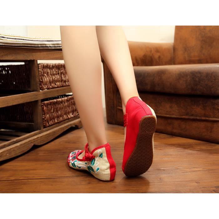 Ballerines Chaussures Femme chaussures en tissu...