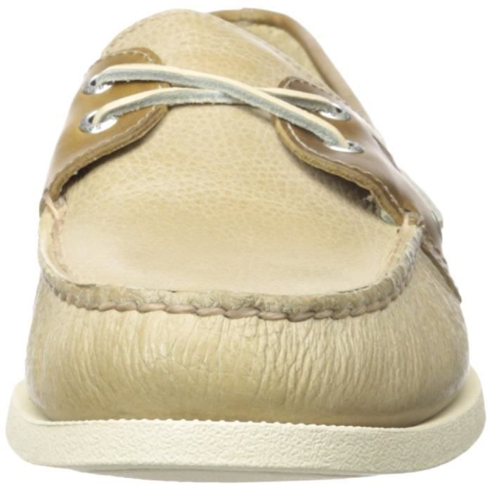 Sperry Top-Sider A - o Deux yeux Croix-dentelle Chaussures bateau PTEL7 Taille-40 1-2 hG0imVP