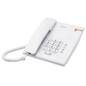 Téléphone fixe Telephone fixe filaire de maison Alcatel Blanc 180