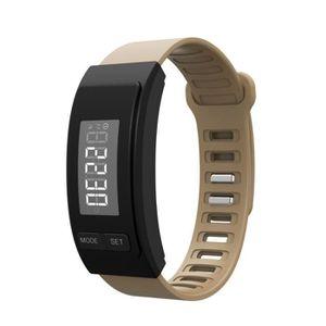 PODOMÈTRE H4 exécuter étape Montre bracelet podomètre calori