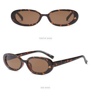 LUNETTES DE SOLEIL Mode Vintage Petit ovale Cadre Lunettes de soleil ... 8237256c22e3