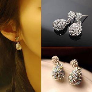 Boucle d'oreille Nouveau mode Femmes cristal Stud Oreille strass Wa