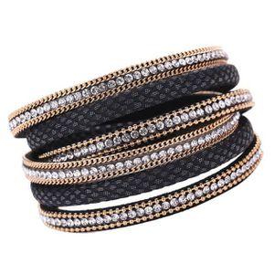 BRACELET - GOURMETTE Bohémiennes Bracelet tissé à la main Tresse Wrap m