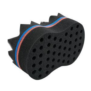 CAPE DE COUPE 2 en 1 Double-face Locks Twist Eponge Afro Bobines