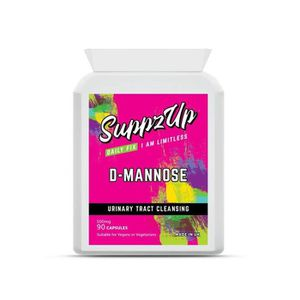 CONFORT URINAIRE Suppzup D-Mannose 500mg 90 Capsules - Appui aux vo