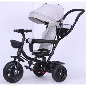 DRAISIENNE Gris Tricycle enfant Tricycle bébé Mixte -tricycle