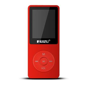 LECTEUR MP3 RUIZU X02 Lecteur de musique MP3 Mini 8 Go Mini Sp