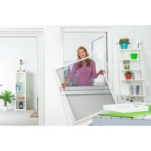 moustiquaire fenetre 120x120 achat vente pas cher. Black Bedroom Furniture Sets. Home Design Ideas