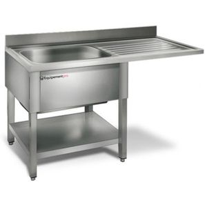 Meuble evier inox achat vente pas cher for Evier garage inox