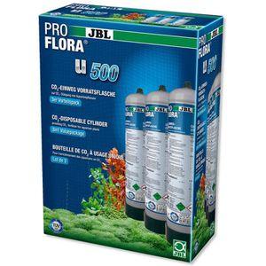 ENTRETIEN ET TRAITEMENT JBL 3 bouteilles de CO2 Proflora U500 2 - Pour pla