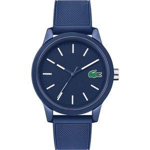9408b32d72 MONTRE Lacoste Homme 38mm Bracelet Silicone Bleu Quartz A ...