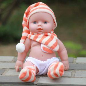 POUPÉE les poupées de parler bébé jouet silicone renaître