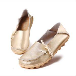BASKET Loafer femmes Cuir perforé Nouvelle Mode Respirant