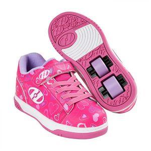 SKATESHOES Heelys chaussures à roulette x2 dual up 100022 ros