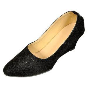 5c1366acb15a8 Ballerines pour femmes NX69O Taille-39 Noir Noir - Achat   Vente ...