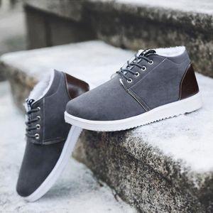 BASKET Hiver Skate Baskets Chaussures Hommes Gris
