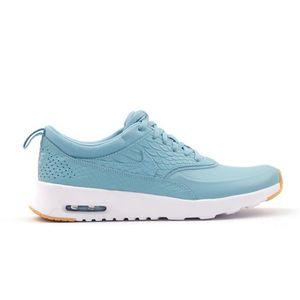 BASKET NIKE chaussures de course air max thea premium pou