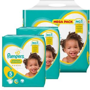 COUCHE 480 Couches Pampers new baby - premium protection