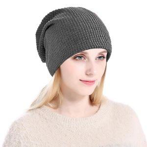 CHAPEAU - BOB Unisexe Chapeau tricoté chaude Bonnets en tricot d