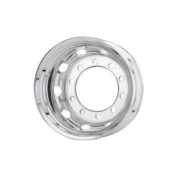 Roue ALCOA en aluminium forgé pour Poids Lourd - 22.5x11.75 déport 135 mm - Perçage 26 mm - Capacité 4.500 kg - Finition LvL-One