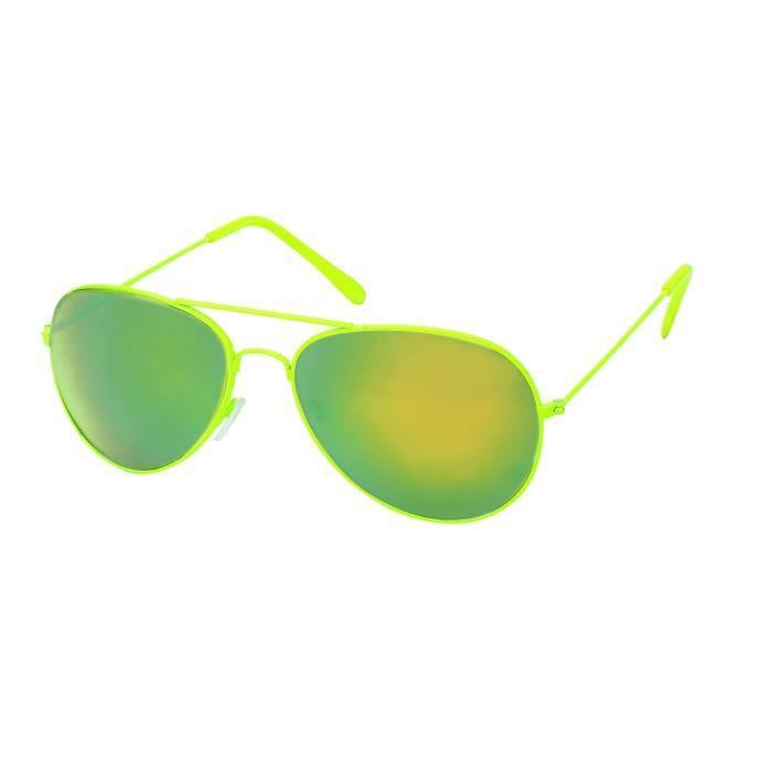 lunettes Pilote couleurs et verres Miroirs-5 coloris Oranges fluo DR2jbl