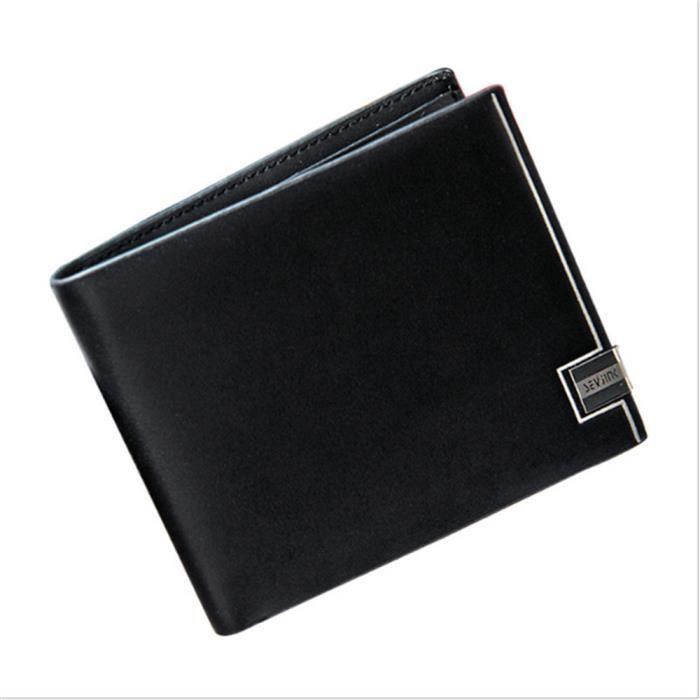 magasin d'usine 1cee8 53ba7 portefeuille homme luxe hommes portefeuilles qualité supérieure porte  monnaie homme marque portefeuille cuir