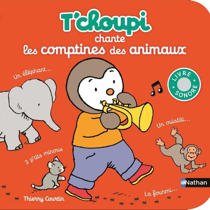 Tchoupi Chante Les Comptines Des Animaux Achat Vente Livre D
