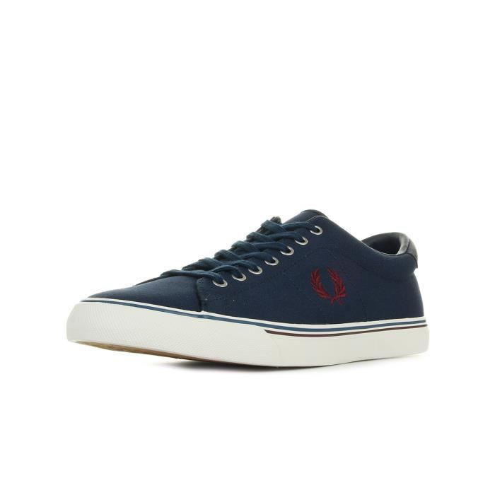 Fred Perry UNDERSPIN CANVAS Bleu 9DDcu