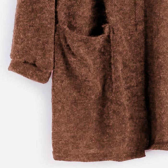 Manches Zareste®femmes Veste Tops Blouse Cardigan Automne Longues Lâche Manteau Rwq4806 Outwear Long À vwxwfa