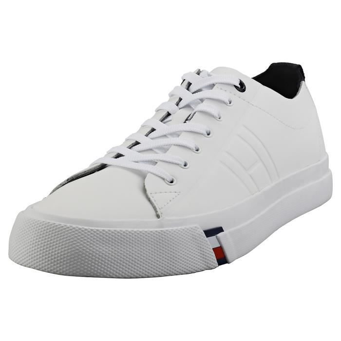 Basket Tommy Hilfiger Corporate Clean Dino Homme Blanc