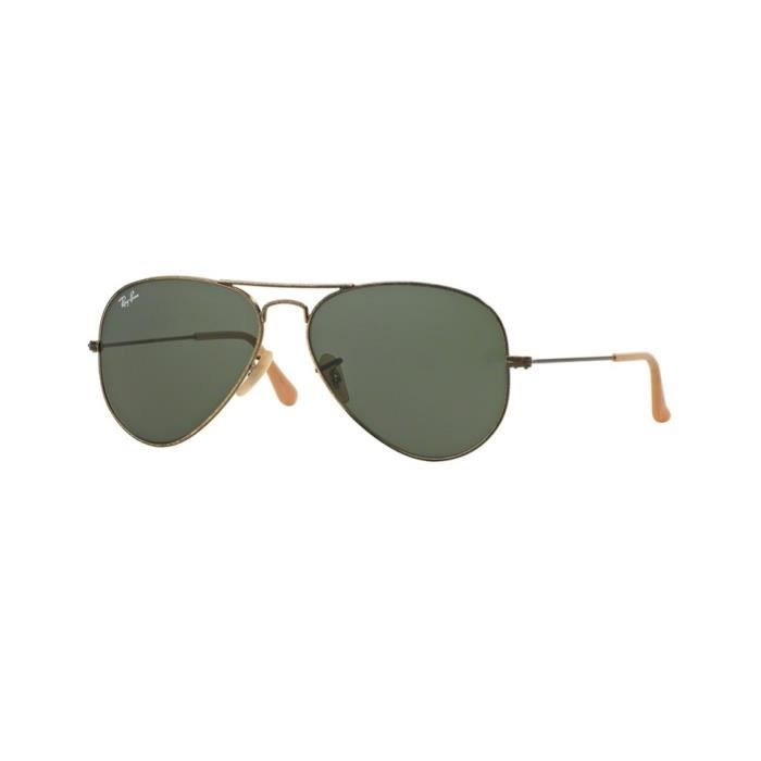 Lunettes de soleil Ray-Ban HommeAVIATOR LARGE METAL RB3025 177 Or58 x 50,1