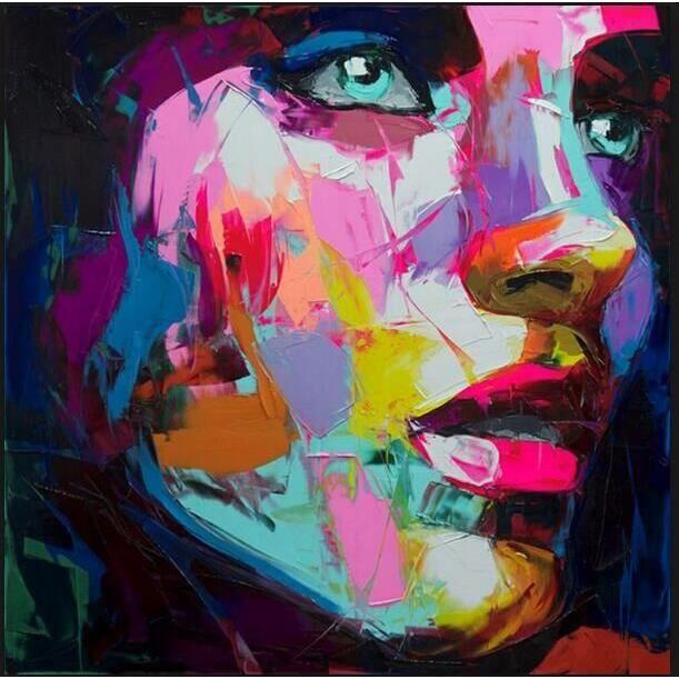 tableau peinture femme achat vente tableau peinture femme pas cher cdiscount. Black Bedroom Furniture Sets. Home Design Ideas