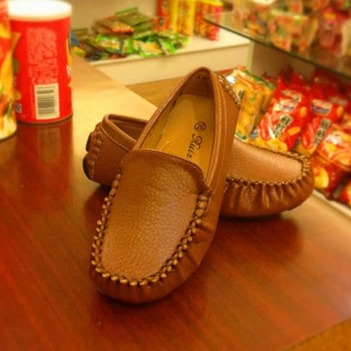 (Brun) Chaussures pour enfants Enfants doug filles chaussures garçon chaussures.