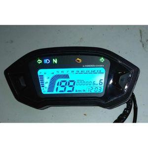 COMPTEUR Compteur de vitesse moto universel tachymètre colo