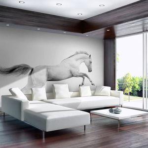 Poster mural cheval papier peint - Achat / Vente pas cher
