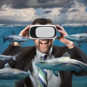 LUNETTES 3D LO VR BOX Universal Casque de Réalité Virtuelle Vi
