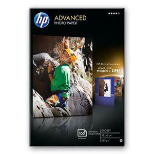 PAPIER PHOTO HP Papier brillant sans bordure Advanced (100 feui