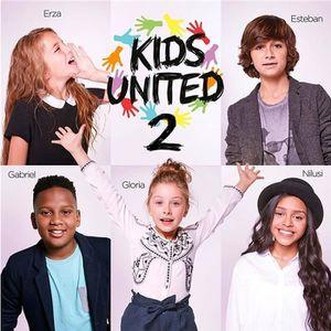 CD VARIÉTÉ FRANÇAISE Kids United 2