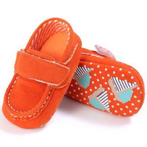Frankmall®Bébé fille bowknot chaussures Soft Sole berceau enfant anti-dérapant dot mignon#WQQ0926106 1rer0PaN