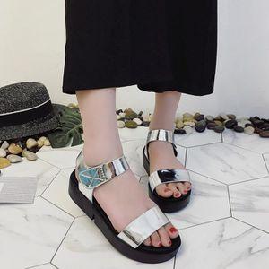 SANDALE - NU-PIEDS Femmes Plateforme Chaussures Femmes Compensées déc