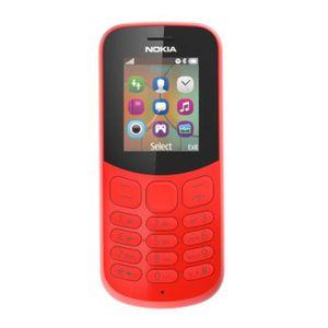 Téléphone portable NOKIA 130 Téléphone portable Rouge DS