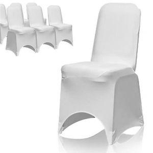 Housse de chaise achat vente housse de chaise pas cher cdiscount - Housse de chaise mariage lycra ...