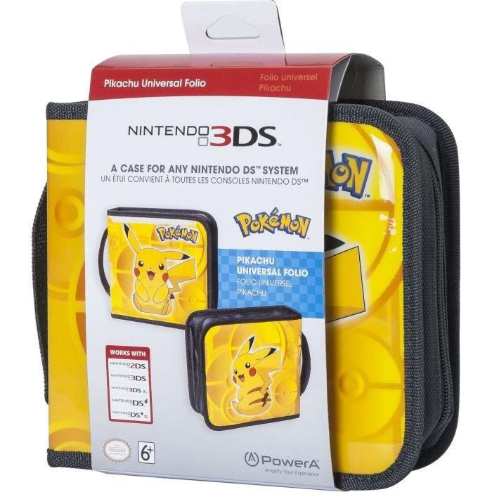 Housse pokemon pikachu pour nintendo 3ds achat vente for Housse nintendo 2ds xl