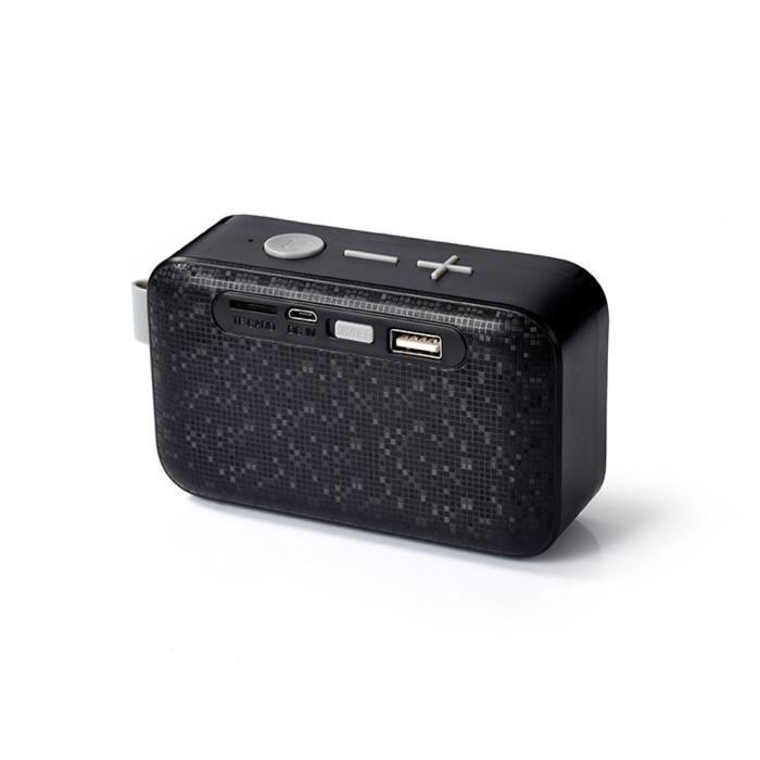 Portable Sans Fil Bluetooth Haut-parleur Stéréo Fm Pour Smartphone Tablet Bu *w786
